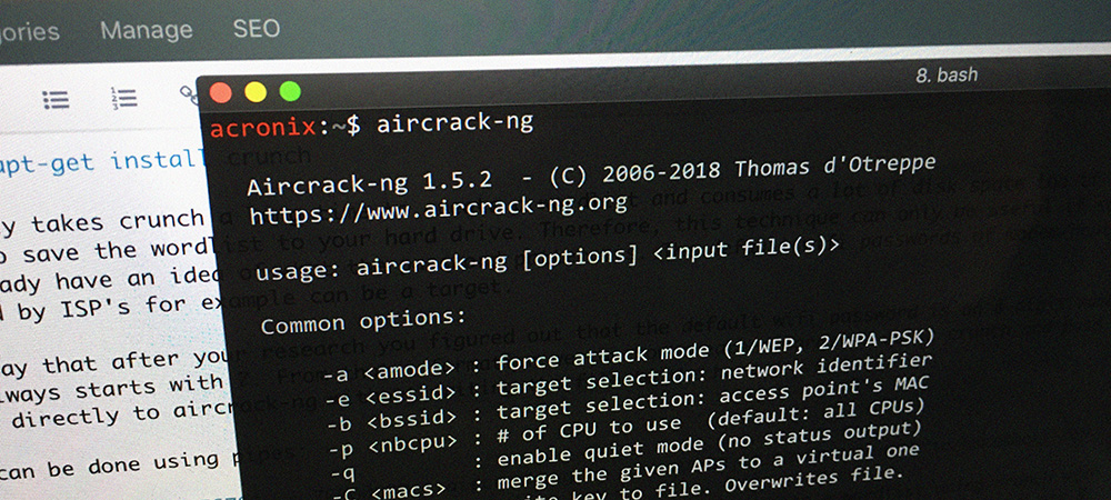 How to Use Aircrack-ng to Brute-force WPA2 Passwords